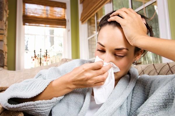 春季容易感冒,鼻涕流不停(圖/達志/示意圖)