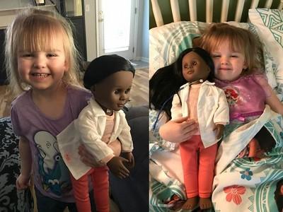 白人女童買黑人娃娃被店員嗆,她神回:它跟我一樣美