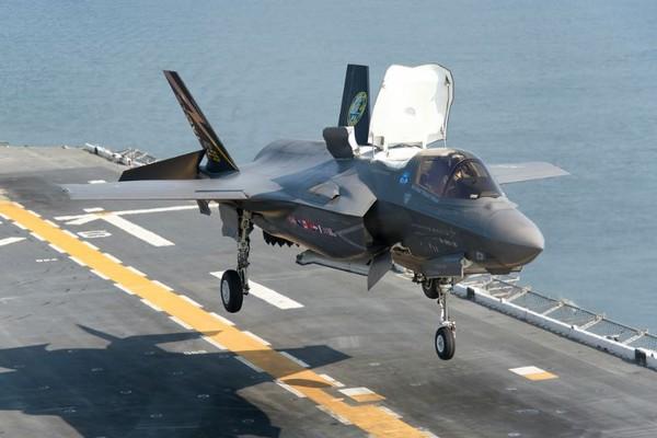F-35B戰鬥機。(圖/翻攝自洛克希德·馬丁官網)