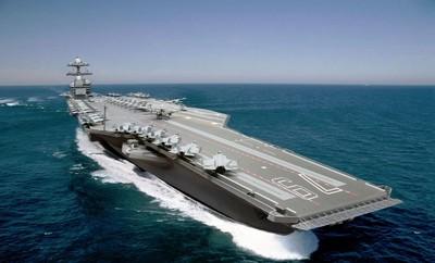 戰力升級!美海軍採購2艘「福特級航母」