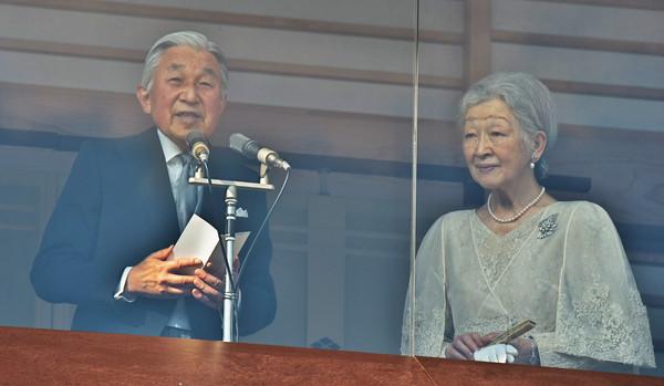 ▲日本明仁天皇83歲慶生。(圖/達志影像)