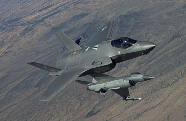 F-35A。(圖/翻攝自洛克希德·馬丁官網)