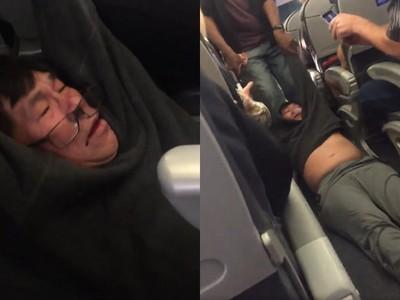 華裔醫「濺血昏厥」被拖下機 聯航CEO內部信曝光:他挑釁好鬥
