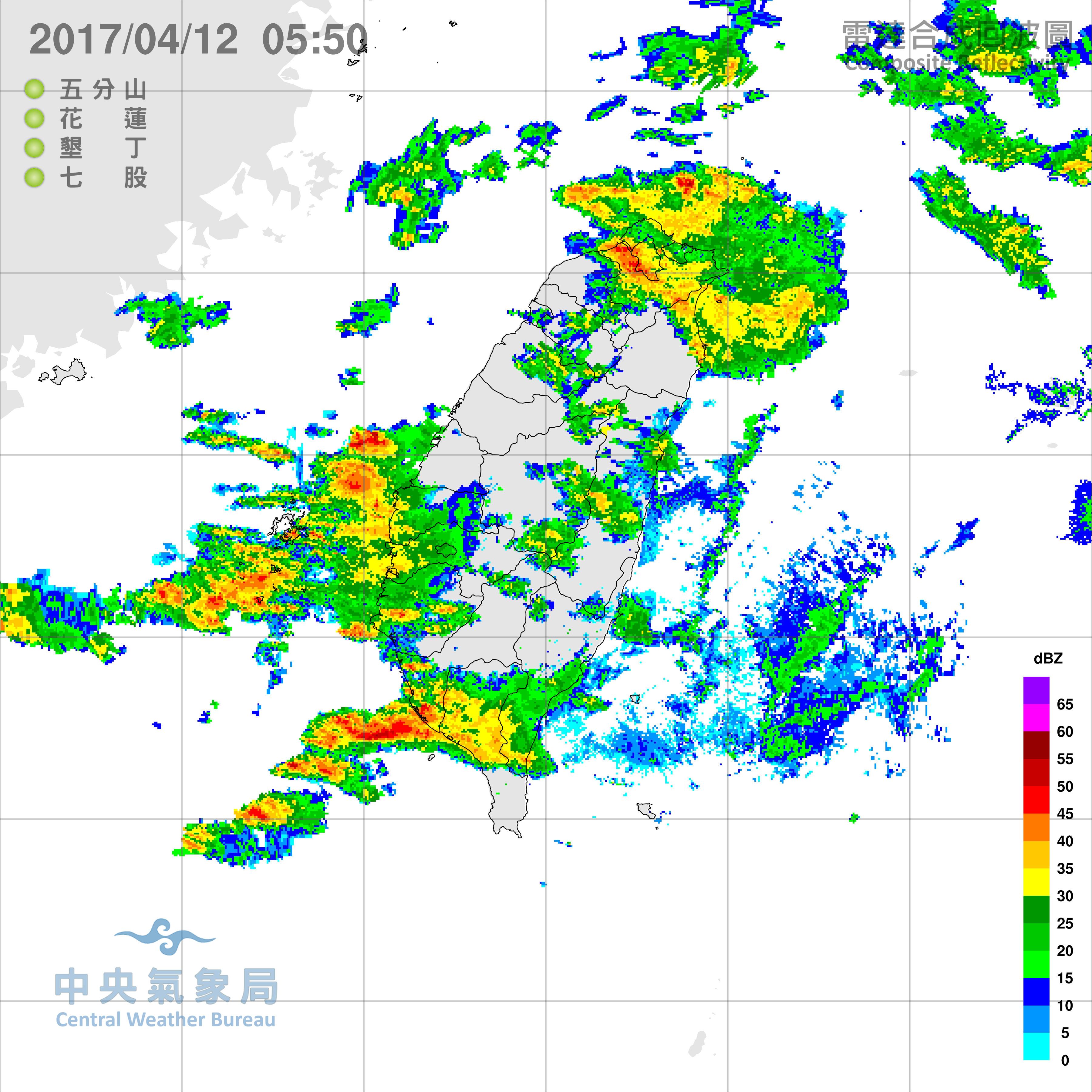快訊/雨彈凌晨炸南台…雨量破50毫米!中南部8縣市續大雨特報