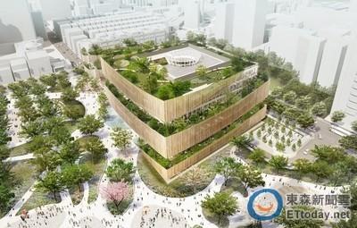 桃市圖總館由中、日建築師團隊共同設計