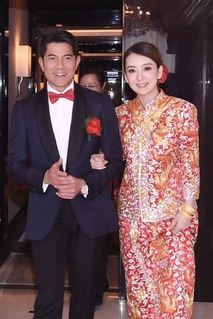 ▲郭富城2017年娶方媛,和黎明一样都在4月得女。(图/CFP)