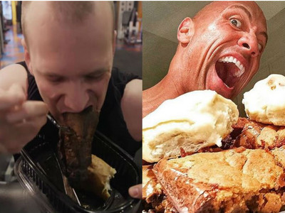 上班族挑戰「巨石強森食譜」日吃7餐,結果讓人不敢看