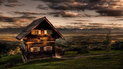 夜晚山中留宿鬼屋你會選哪間?測你適合什麼工作!