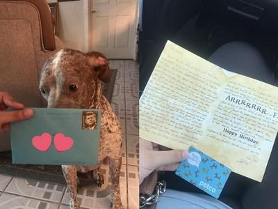 分居老公每年寄「生日賀卡」給愛犬 眼尖網友:他想追回妳