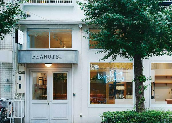 東京史努比咖啡館(圖/取自PEANUTS Cafe tokyo / ピーナッツカフェ官網)