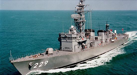 日本海上自衛隊第12護衛隊所屬「阿武隈」號護衛艦。(圖/翻攝自日本海上自衛隊官網)