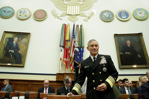 ▲▼美軍太平洋司令哈里斯上將(Admiral Harry Harris)。(圖/路透社)
