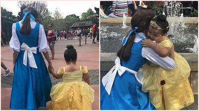 7歲罕病妹妹熬過大小手術 和貝拉牽手逛迪士尼那刻忍不住哭了