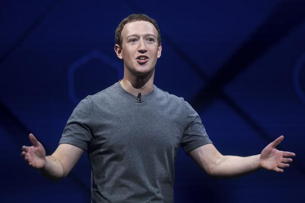 臉書創辦人馬克祖克柏(Mark Zuckerberg)。(圖/美聯社)