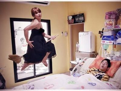 哭了!泰國「怪爸」服裝總廢到笑,背後竟是給癱瘓兒子的愛..
