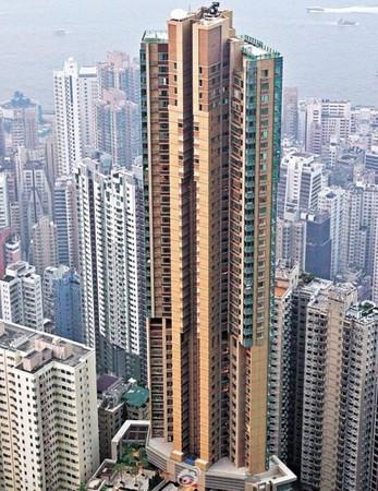 香港天匯(圖/翻攝香港美聯物業微博)