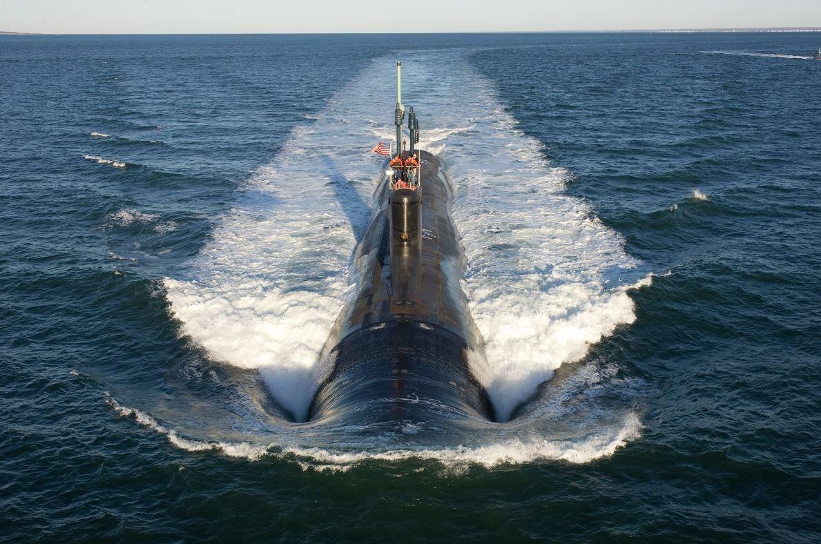 維吉尼亞級核動力攻擊潛艦,Mississippi (SSN 782) 。(圖/翻攝自U.S. Navy粉絲專頁)