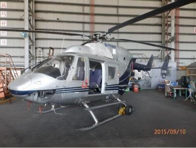 台北分署賣直升機 拍賣底價2250萬