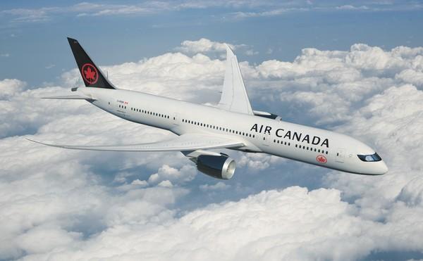 加拿大航空波音787夢幻客機。(圖/加拿大航空提供)