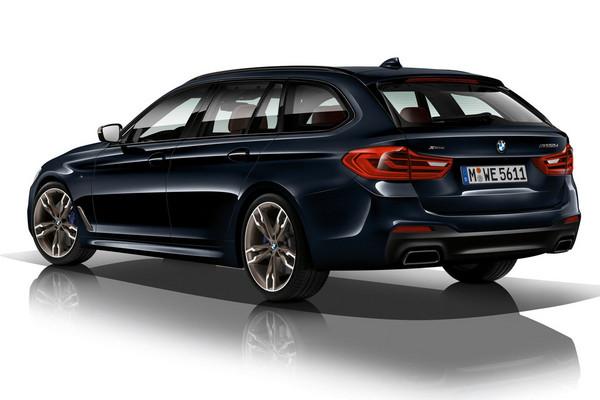 4渦輪暴力柴油房車!BMW M550d xDrive最強登場。(圖/翻攝自BMW)