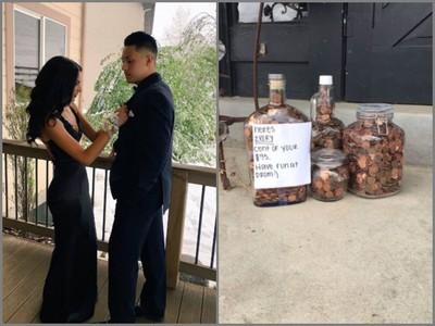 男友討要「放生費2800元」,她去銀行提領9500個硬幣神報復…