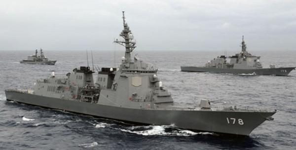 日本神盾系統愛宕級驅逐艦。(圖/翻攝自海上自衛隊)