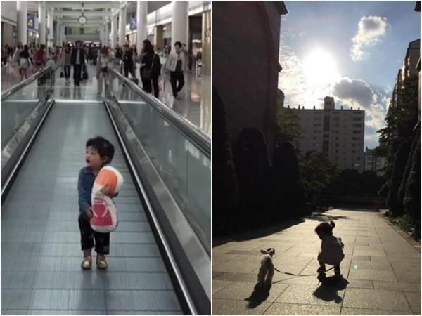 池晟曬2歲女兒正面。(圖/翻攝自池晟IG)