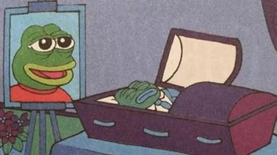 魯蛇梗圖「悲傷蛙」宣布死亡 作者:與其被政治染指...不如歸去