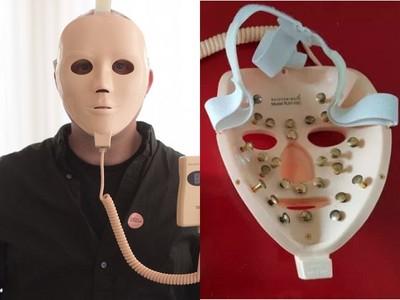 這副人魔面具專電婦女 驚人「美肌效果」反被博物館珍藏