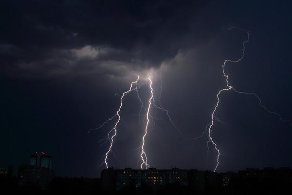 ▲打雷,閃電。(圖/達志/示意圖)