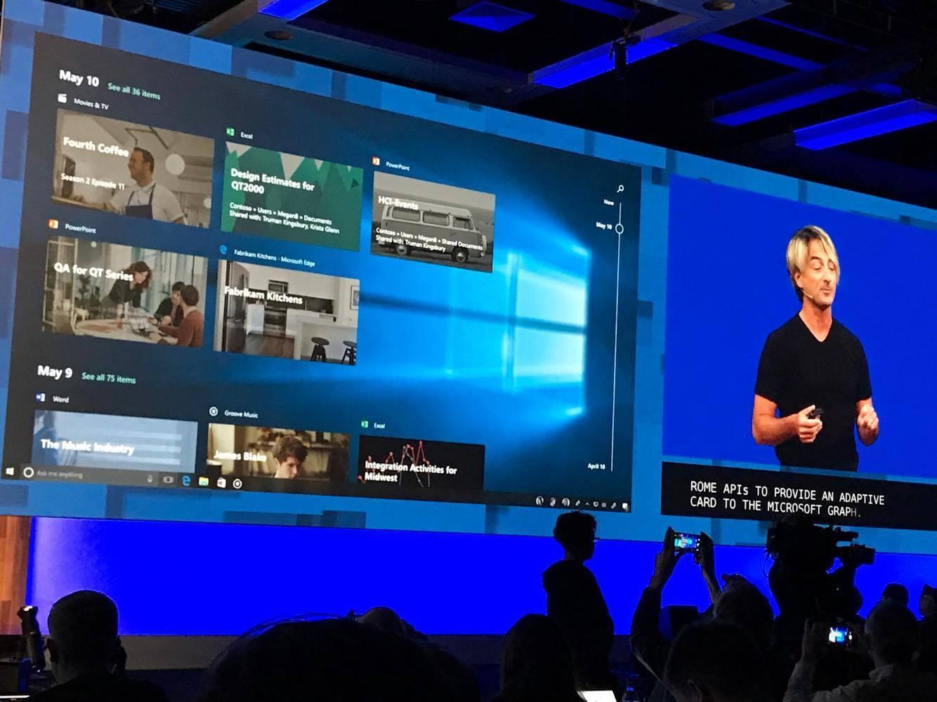 Windows 10 fall Creator Update 亮點功能介紹(圖/記者洪聖壹攝)