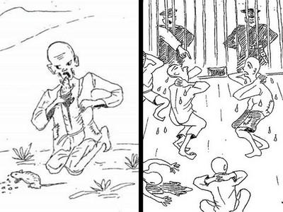 殘疾人被虐姦,餓到抓鼠生吞 北韓勞改倖存者手抖畫出6大暴行