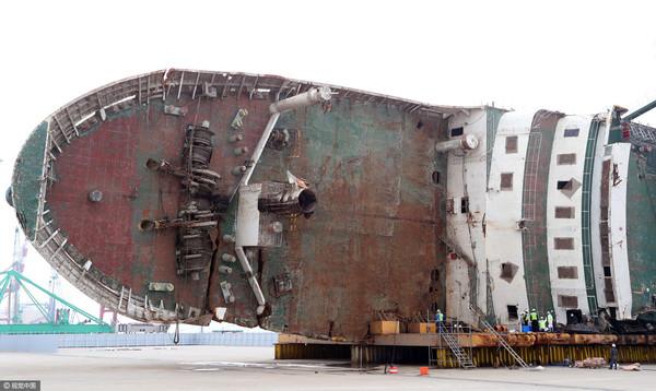 罹难者可回家了?世越号沉没3年 船尾发现「大量人骨」