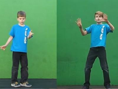 小男孩和2年前的自己尬舞 一出場就超狂!努力真的變天才