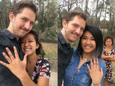 求婚照被讚爆!男子決定讓老婆「戴綠帽」8次籌婚禮經費