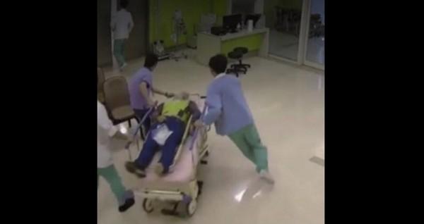 王姓清潔隊員遭酒駕婦追撞,陷入重度昏迷。(圖/翻攝臉書)