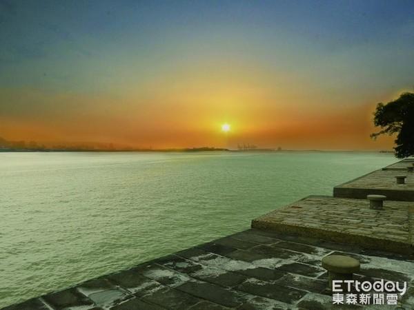 海關碼頭(圖/淡水古蹟博物館提供)