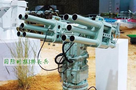 CS/AR1型55毫米反蛙人火箭炮系统�M�v永暑礁,�iT�Ω对侥系耐苋瞬筷�。(�D/翻�z自新浪�事)