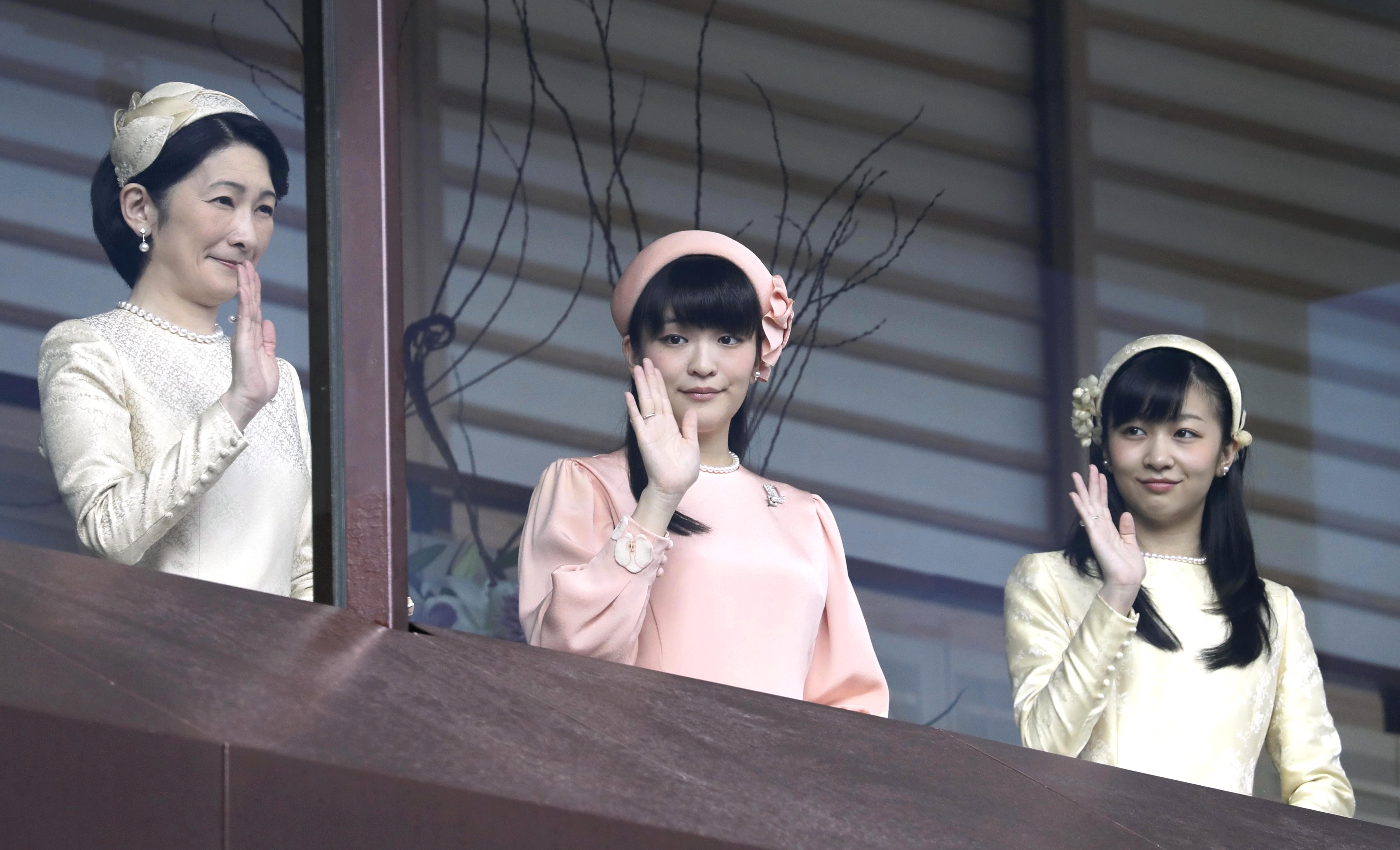 日本皇室繼承危機...真子公主下嫁平民「血脈非皇子」