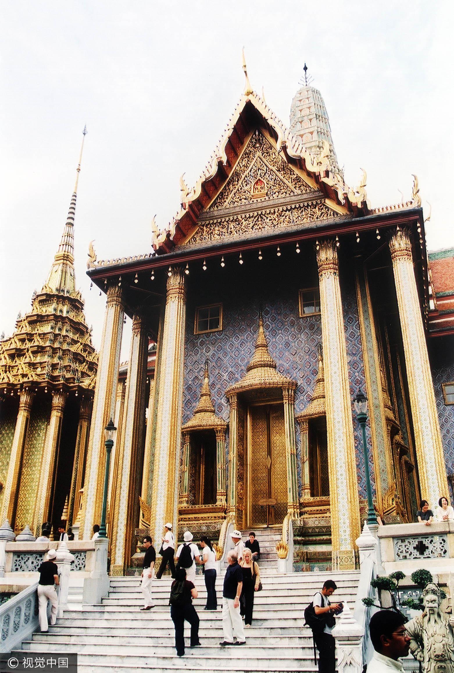 泰國政府去年8月開始打壓「零團費」旅遊團。圖為泰國玉佛殿。(圖/CFP)