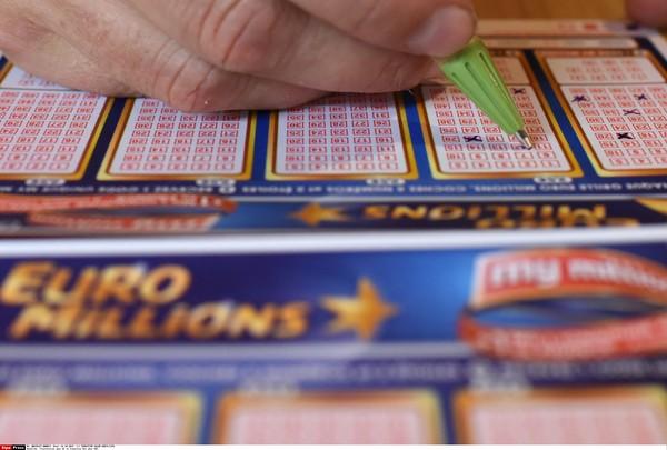 歐洲百萬樂透,樂透,Euromillions,中獎,彩券。(圖/達志影像/美聯社)