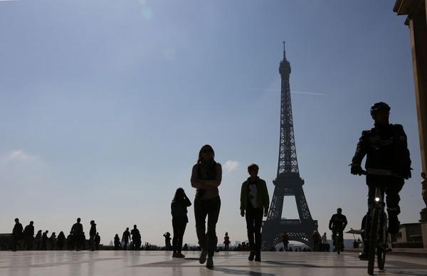 法國巴黎艾菲爾鐵塔。(圖/CFP)