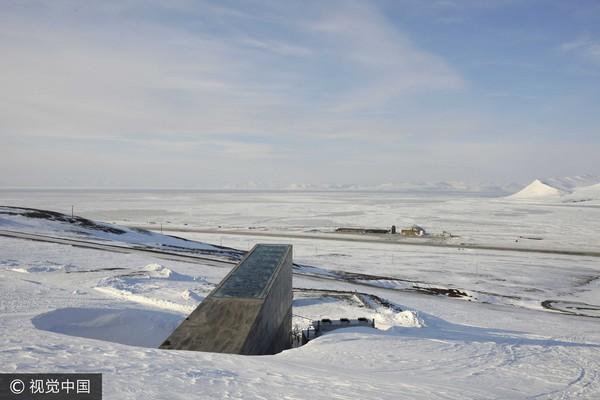斯瓦爾巴全球種子庫(Svalbard Global Seed Vault)。(圖/CFP)