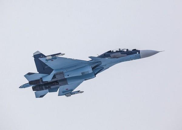 俄羅斯Su-30SM戰鬥機。(圖/翻攝自聯合航空製造公司(OAK)官網)