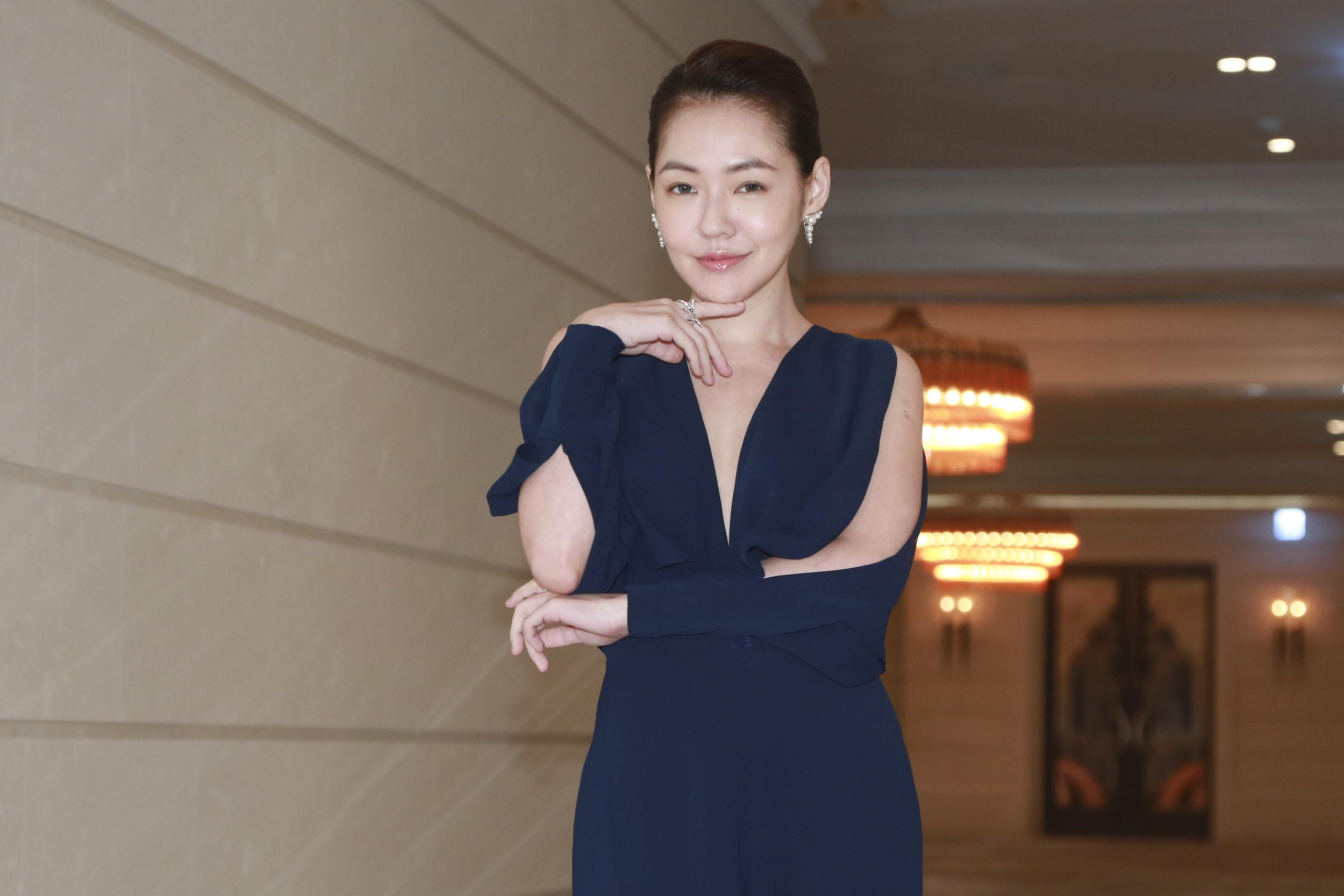 《吃吃的愛》平面媒體聯訪-小S(徐熙娣)(圖/記者黃克翔攝)