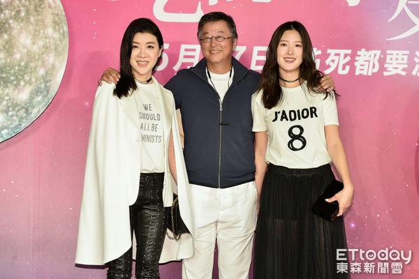 王偉忠,王羚出席電影《吃吃的愛》首映會(圖/記者張一中攝)