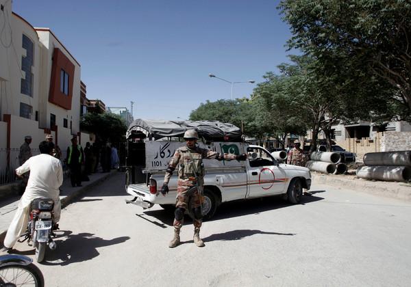 ▲中國一對夫婦在巴基斯坦俾路支省(Balochistan)首府奎達真納鎮,遭到武裝分子綁架。(圖/路透社)