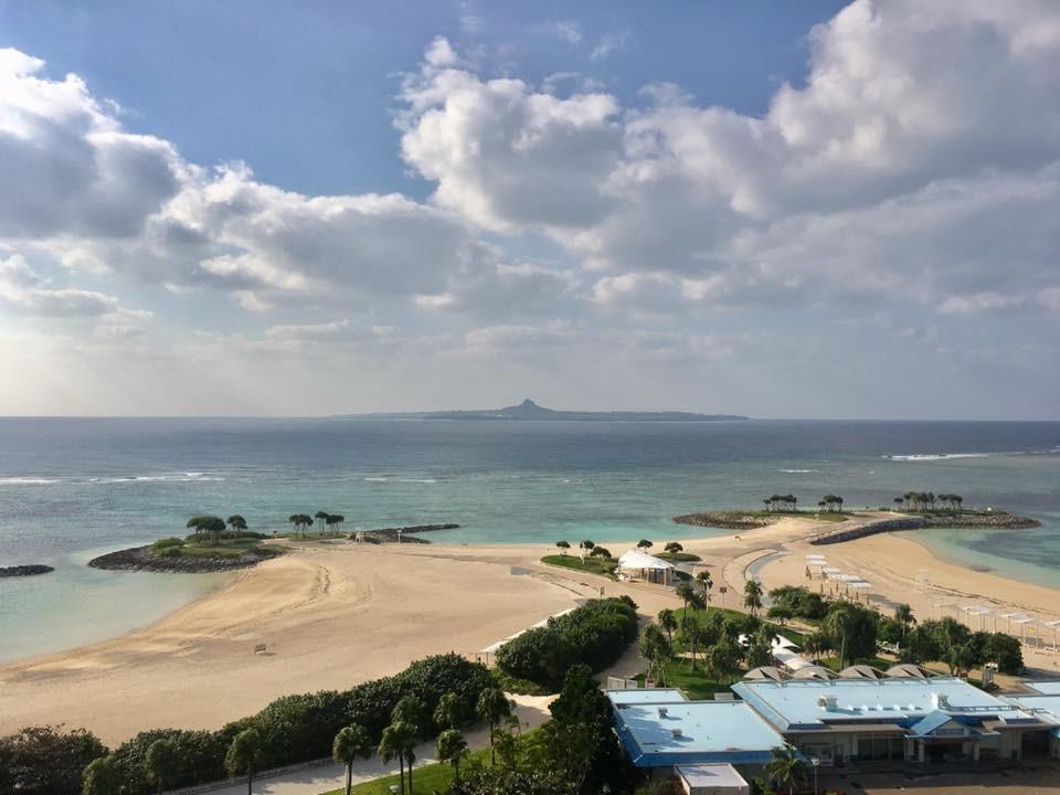 沖繩,海島,沙灘。(圖/記者董美琪攝)