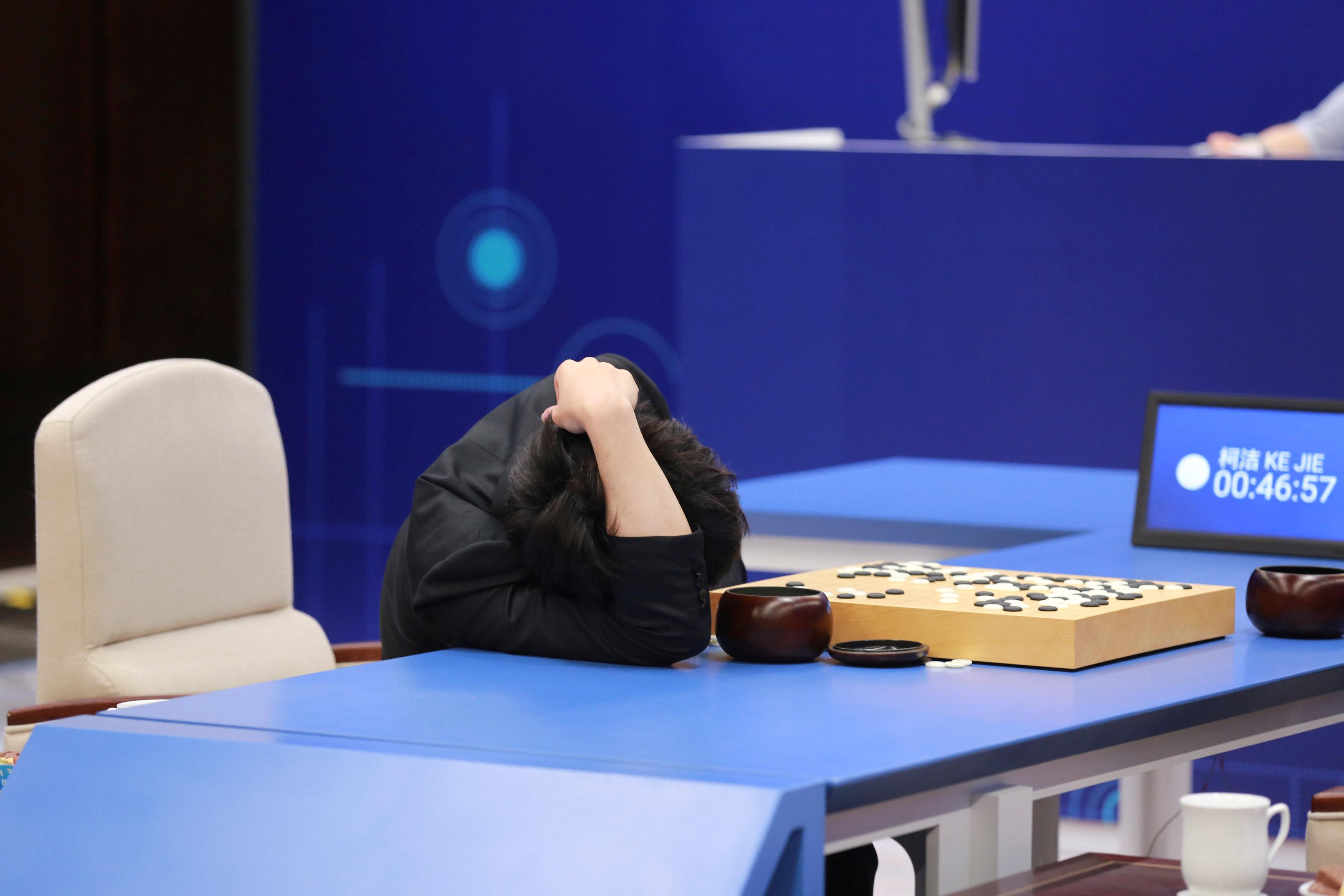 AlphaGo,封棋,棋譜,圍棋,柯潔(圖/路透)