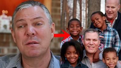 回憶兒時受虐哭慘!同志父親領養4黑人小孩「發誓還他們快樂」
